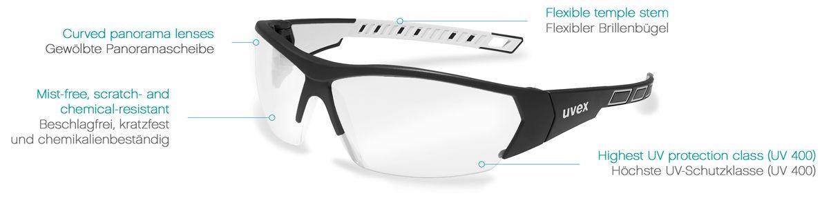 Schutzbrille Augenschutz Sicherheitsbrille Made in Switzerland