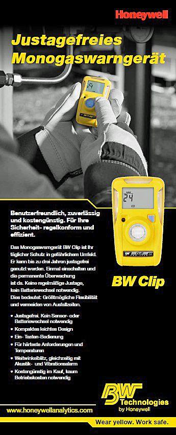 bw clip eingaswarnger t f r h2s laufzeit 3 jahre 0 100 ppm a1 5 a2 10 ppm ace technik. Black Bedroom Furniture Sets. Home Design Ideas