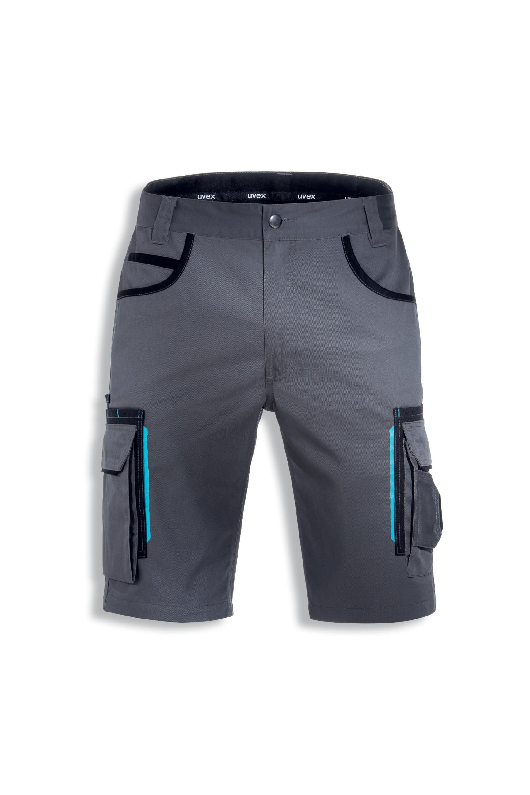 748b6d07307cee Uvex kurze Arbeits-Hose Shorts Tune Up Bermuda 9808 schwarz grau ...