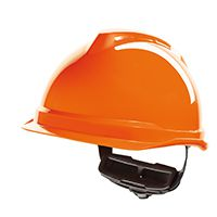 MSA Safety Gerüst- / Elektrikerhelm V-Gard 520, orange