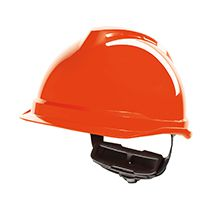 MSA Safety Gerüst- / Elektrikerhelm V-Gard 520, leuchtend orange