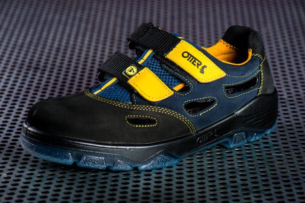 finest selection f2853 ac59f Otter Sicherheitssandale 98405-559 ESD S1, Farbe: schwarz/gelb